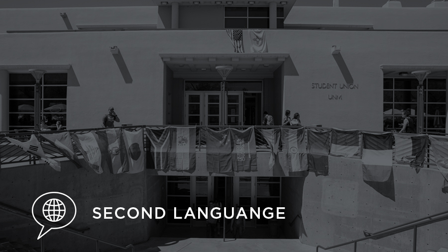 Second Language banner image